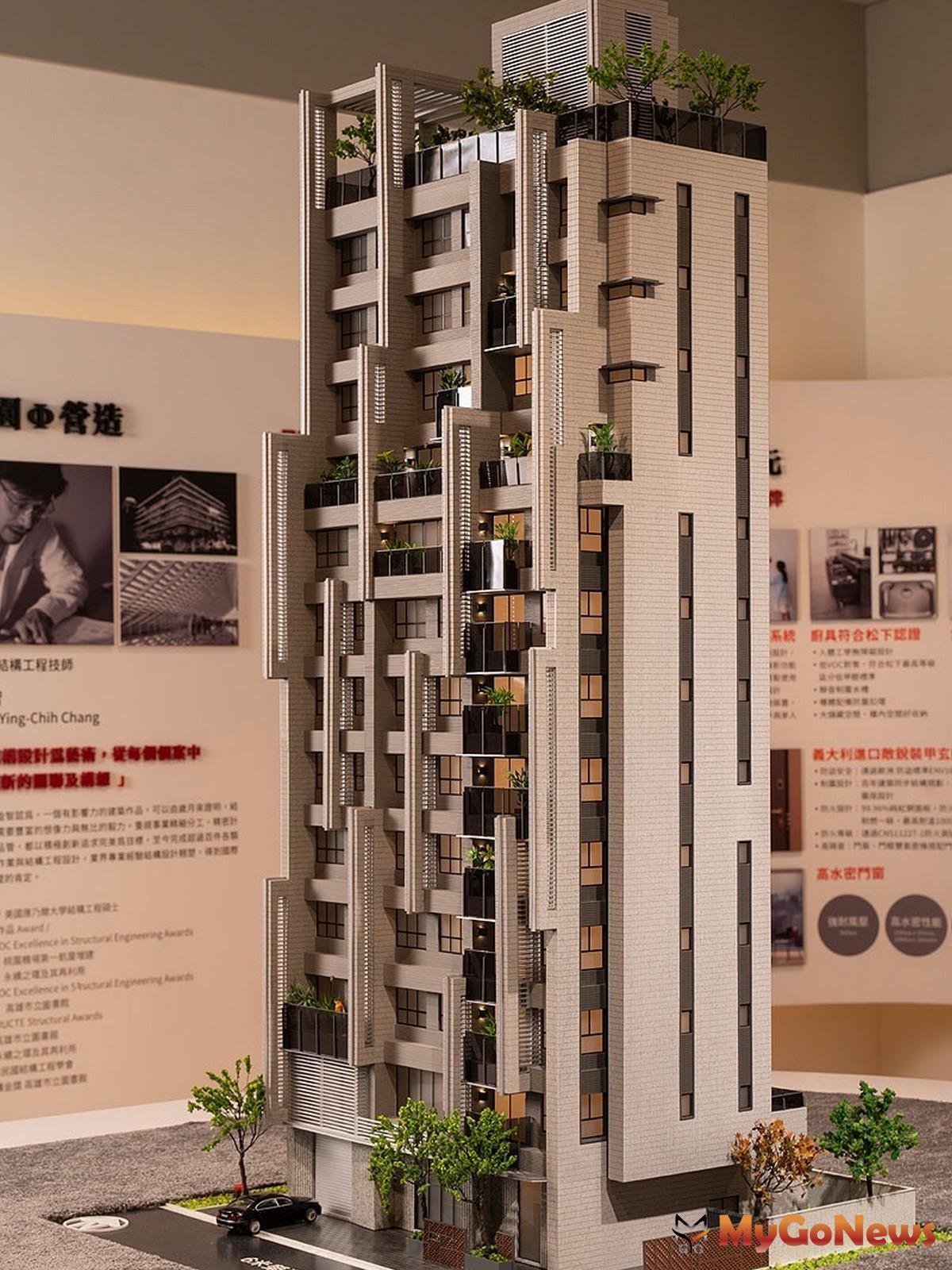 「璞園袖里春」建築模型。(圖/業者提供) MyGoNews房地產新聞 熱銷推案