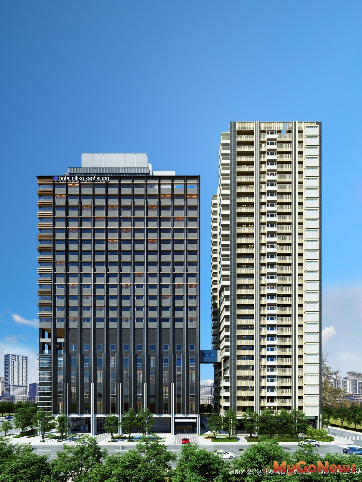 高雄純正日系共構的日航酒店「和陸寓邸」飯店宅建案也於9月27日100%完銷(圖/業者提供) MyGoNews房地產新聞 市場快訊