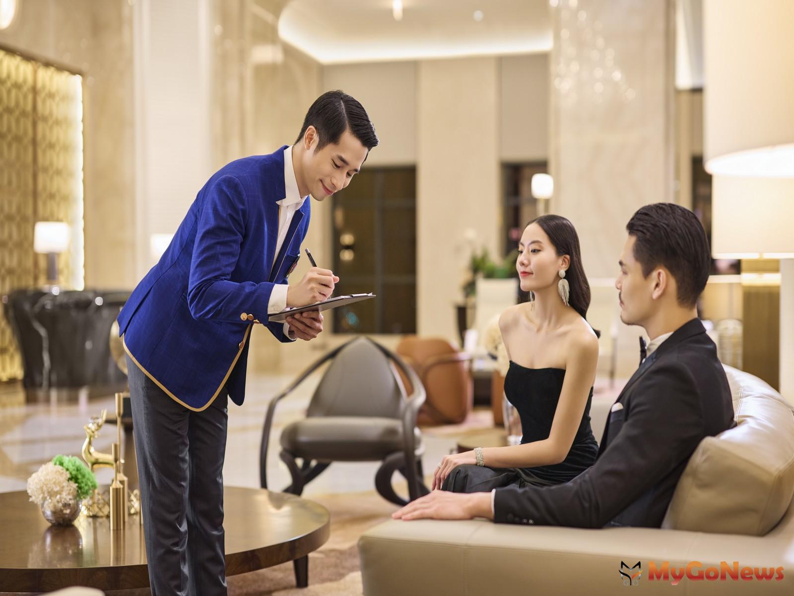 「遠雄THE ONE」引進全台少見的「英式大管家」服務,搭配「頂級豪宅物業管理」。(圖/業者提供) MyGoNews房地產新聞 熱銷推案
