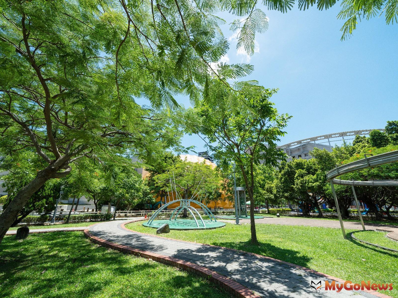 「陽明松疆」 周邊校園綠地與大型場館環繞,圖為美崙公園(圖/業者提供) MyGoNews房地產新聞 熱銷推案