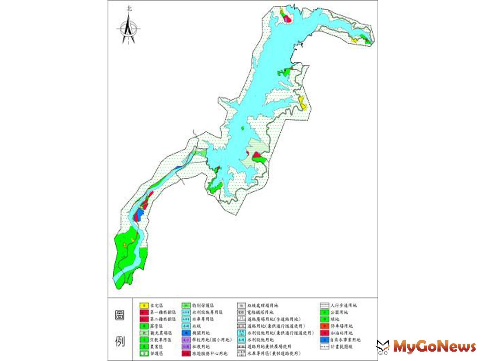 曾文水庫特定區計畫第四次通盤檢討第一階段於2021年9月14日發布實施(圖/台南市政府) MyGoNews房地產新聞 區域情報