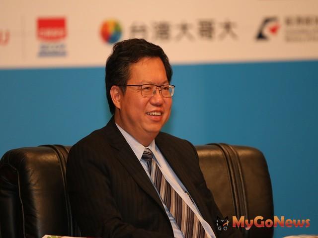 桃園市長鄭文燦說,青埔特區已發展成為台灣重要的示範城市。 MyGoNews房地產新聞 專題報導
