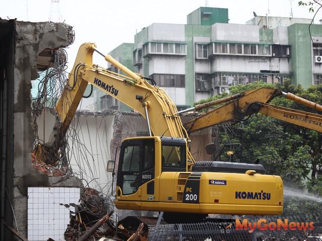 文林苑都更代為拆除執行案台北市政府於2012年3月28日上午7時20分執行。(照片為示意圖) MyGoNews房地產新聞 市場快訊