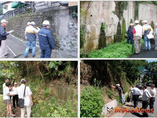 台北市工務局大地工程處每個月針對全市有保全對象的131處順向坡,進行勘查及監測(圖:台北市政府) MyGoNews房地產新聞 區域情報