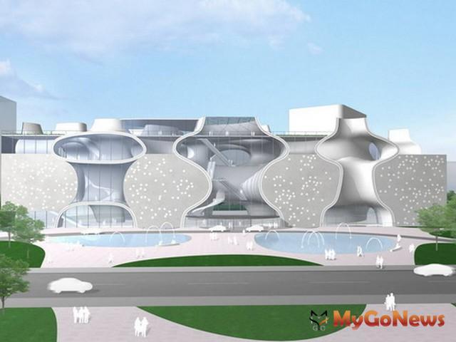 「台中大都會歌劇院」未來名稱為「台中國家歌劇院」,預計最快2014年11或12月試營運(圖:台中市政府) MyGoNews房地產新聞 市場快訊