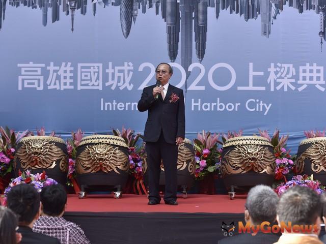 國城建設董事長洪平森表示,「全案邀請世界頂級建築團隊攜手打造,正式改寫亞洲新灣區城市天際線。 MyGoNews房地產新聞 熱銷推案