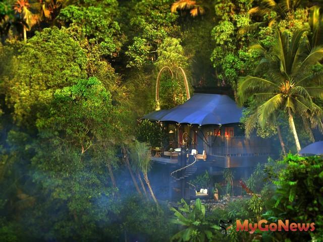 Capella Ubud–黎明時俯瞰整個山谷的景色(圖:美通社) MyGoNews房地產新聞 Global Real Estate