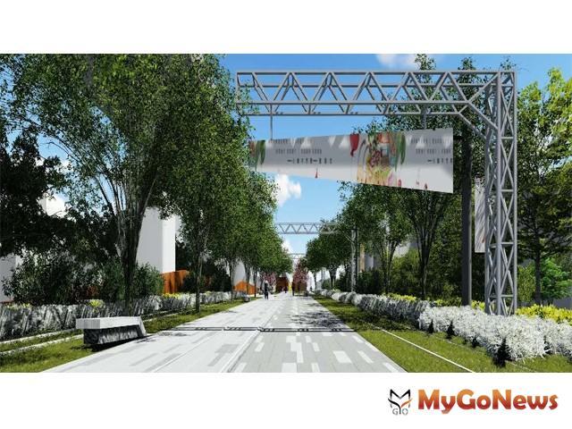 綠空鐵道結合人本環境改善 中市府打造舊城區綠色公共空間(圖:台中市政府) MyGoNews房地產新聞 區域情報