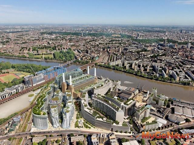 仲量聯行代理銷售倫敦「巴特西電廠三期開發案」(圖:仲量聯行) MyGoNews房地產新聞 Global Real Estate
