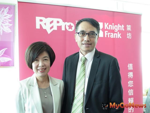 瑞普萊坊劉美華總經理與瑞普萊坊蘇鋭強副總 MyGoNews房地產新聞 市場快訊
