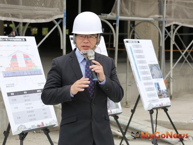 台南市美術館,預計2018年8月完工、年底開館(圖:台南市政府) MyGoNews房地產新聞 區域情報