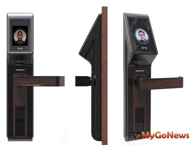 WAFERLOCK維夫拉克於台北國際建築建材暨產品展正式推出台灣第一支「3D人臉辨識電子鎖」(圖:業者提供) MyGoNews房地產新聞 安全家居