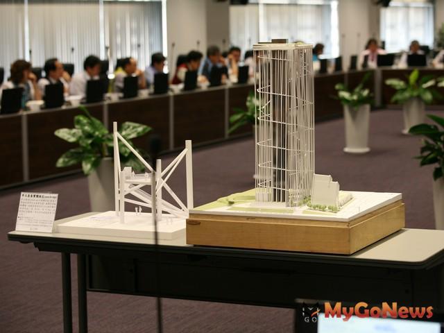 台灣塔將帶來龐大觀光經濟效益,2014年將以模組讓民眾搶先體驗塔內結構(圖:台中市政府) MyGoNews房地產新聞 區域情報