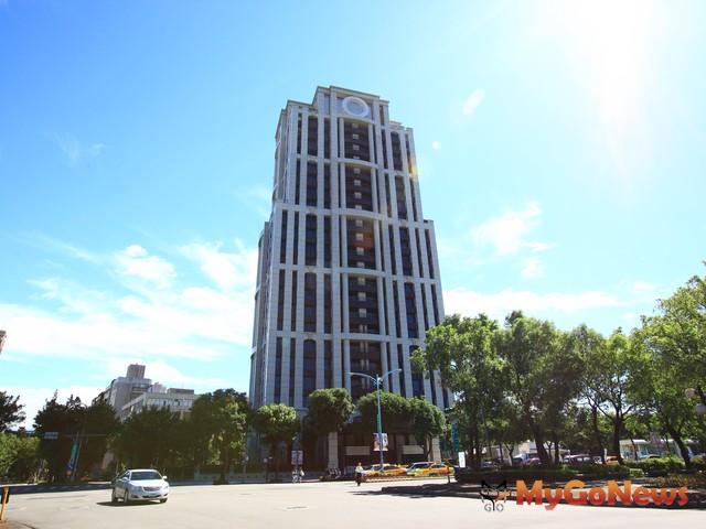 台北市愛國西路的「元大一品苑」6樓,拆算車位每坪單價為162.1萬元。 MyGoNews房地產新聞 市場快訊