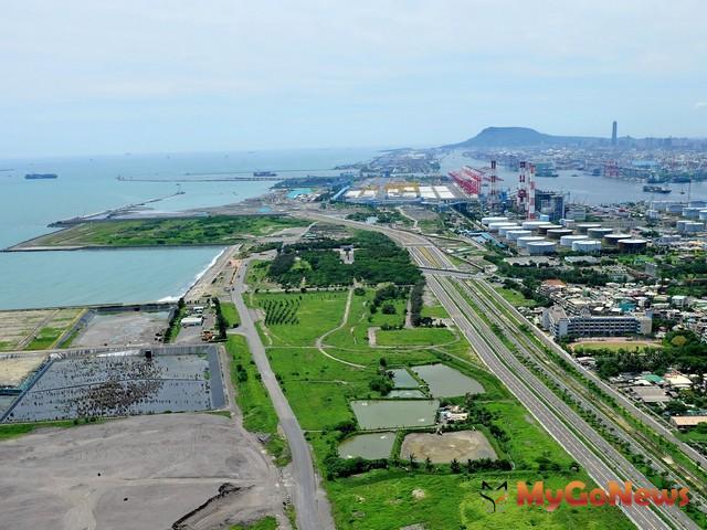 高雄市南星自由貿易港區都市計畫將由台灣港務公司開發並引進國際物流、綠能產業等臨港型優質產業(圖:高雄市政府) MyGoNews房地產新聞 區域情報
