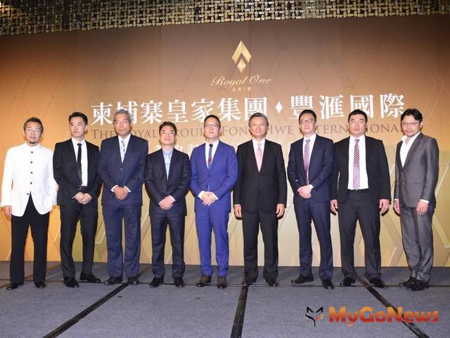 柬埔寨首富皇家集團來台參訪拜會合作團隊,並首度對外公開金邊第一高樓設計圖 MyGoNews房地產新聞 Global Real Estate