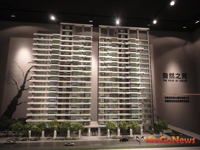 大陸建設「謙量」規劃單戶70與80坪,在新莊副都心中的建案較少見到。 MyGoNews房地產新聞 熱銷推案