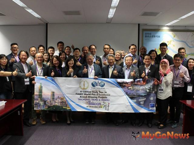 世界不動產聯合會馬來西亞分會,肯定台中「全球卓越建築」獲獎實力(圖:台中市政府) MyGoNews房地產新聞 區域情報