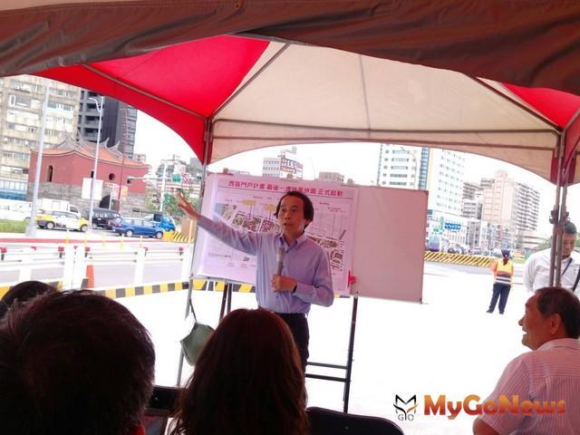 台北市副市長林欽榮說,第一階段計畫已陸續完成,對翻新台北車站週邊環境貢獻卓著(圖:台北市政府) MyGoNews房地產新聞 區域情報