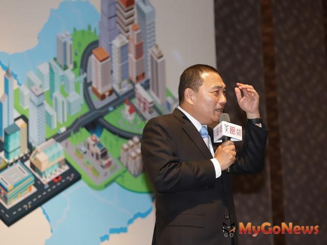 侯友宜:大城小國,新北十年願景(資料照片) MyGoNews房地產新聞 趨勢報導