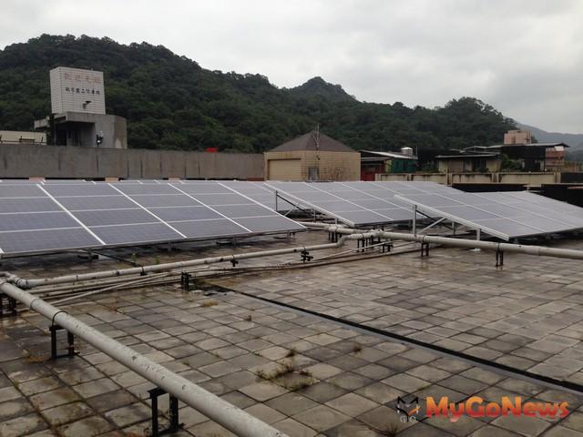 瑞芳第一市場太陽能光電發電系統設置(圖:新北市政府) MyGoNews房地產新聞 區域情報