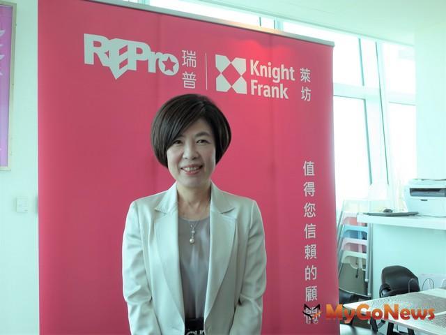 瑞普萊坊總經理劉美華表示,工業地產交易超熱,勝華中工廠以8.4億順利標脫 MyGoNews房地產新聞 市場快訊