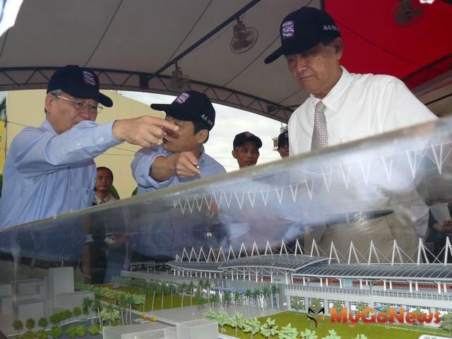預定6月舉辦潮州站的完工典禮,全線通車則預定在2015年6月 MyGoNews房地產新聞 區域情報