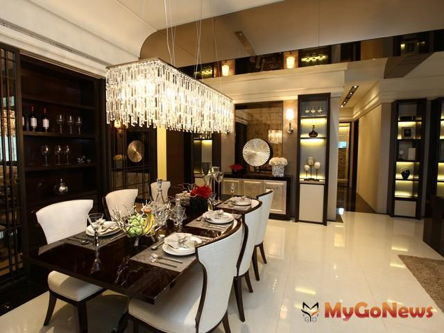 良好的餐廳風水不僅可以凝聚家庭成員的向心力,也具有招財作用。 MyGoNews房地產新聞 居家風水
