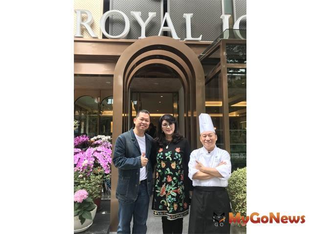 「玖尹Royal Joying Soirée」創辦人顏瓊姿董事長(中)結合專業人才打造「超級餐廳」未來式 MyGoNews房地產新聞 房市新焦點