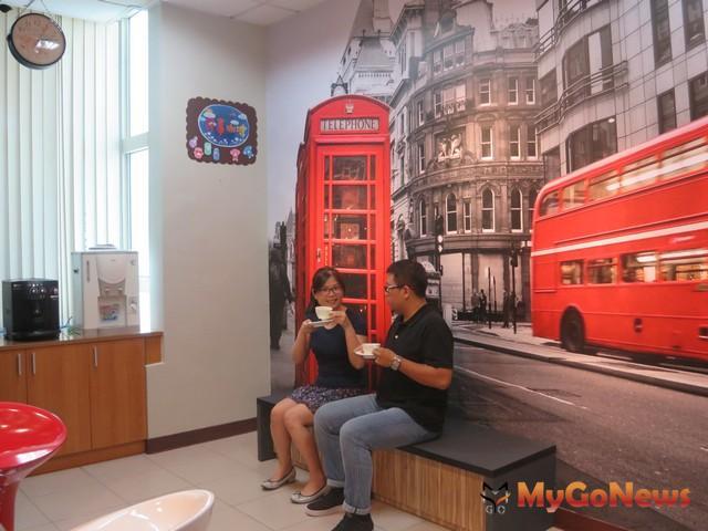 泰山戶所則把倫敦街景搬進來,充滿異國情調(圖:新北市政府) MyGoNews房地產新聞 區域情報