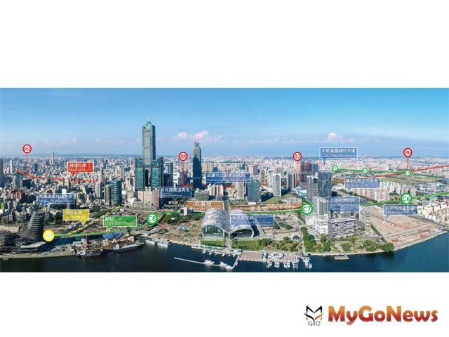 「亞灣特貿三」是「新加坡的品質,非洲的價格」(圖:高雄市政府) MyGoNews房地產新聞 區域情報