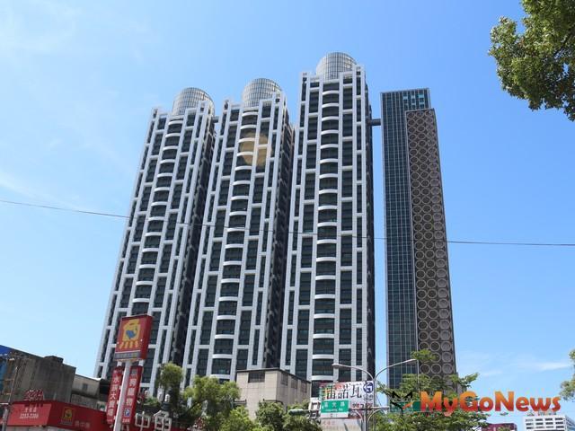 新北市方面,當前最高的建築為板橋三圓建設的「新巨蛋」,樓高46層、高度達188米。 MyGoNews房地產新聞 趨勢報導
