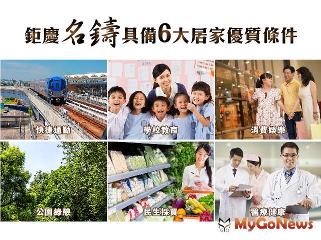 鉅慶名鑄 擁抱優質居家6條件,10大宜居新優勢 MyGoNews房地產新聞 專題報導