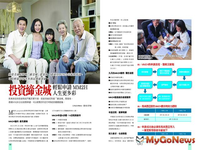 投資締金城 輕鬆申請MM2H 人生更多彩 MyGoNews房地產新聞 Global Real Estate