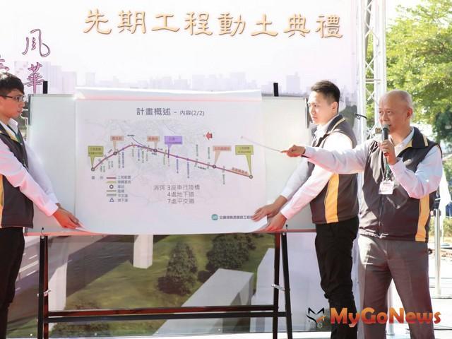 交通部:嘉義市區鐵路高架化預計9年內完工啟用(圖:交交通部) MyGoNews房地產新聞 區域情報