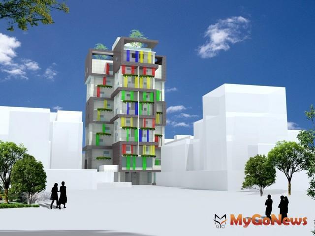新莊青年住宅模擬示意圖(圖:新北市政府) MyGoNews房地產新聞 區域情報