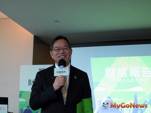 瑞普萊坊發布財富報告,瑞普萊坊董事長曾東茂表示,台灣在投資方面應加強 MyGoNews房地產新聞 市場快訊