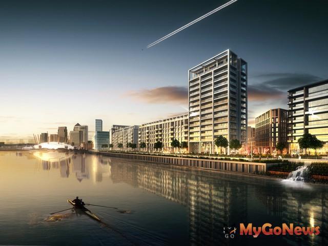 世界人口移民英國,倫敦為人口移入大城,瑞普萊坊於6月5日推出倫敦皇家碼頭第二期住宅投資說明會(圖:業者提供) MyGoNews房地產新聞 Global Real Estate
