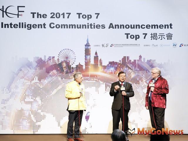 左起ICF共同創辦人Louis Zacharilla、李世光部長、ICF主席John G. Jung(圖:經濟部) MyGoNews房地產新聞 區域情報