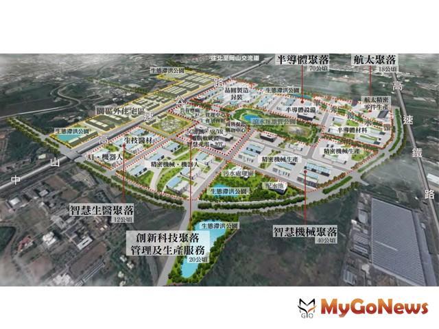 推動橋頭科學園區開發案,預計2021年底提供廠商選地規劃 (資料照片) MyGoNews房地產新聞 區域情報