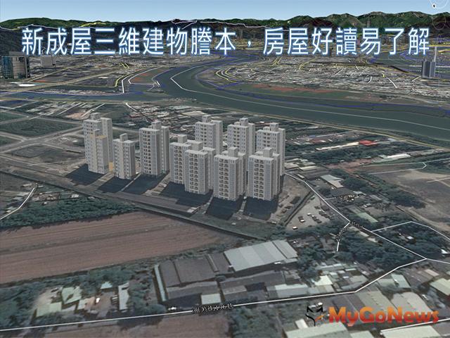 建物圖資向量化整合運用更便利(資料照片) MyGoNews房地產新聞 區域情報