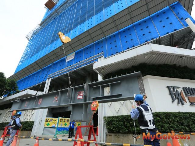 台北市飯店寓邸圓滿銷售典範 大陸建設「琢豐」風光上樑 MyGoNews房地產新聞 熱銷推案